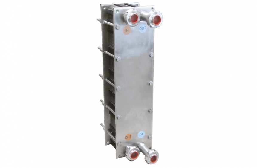 Коаксиальный теплообменник для молока Паяный пластинчатый теплообменник SWEP B500Т Орёл